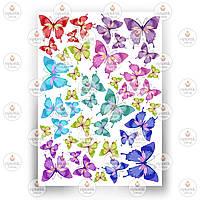 Печать съедобного фото - Бабочки №7