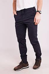 Мужские темно-синие брюки AVECS хлопковые