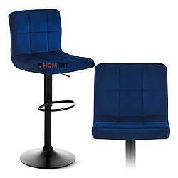 Стілець барний хокер Homart 727VB синій (9373)