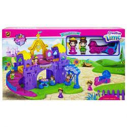 Замок для кукол, с мебелью и фигурками