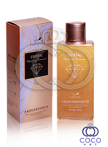 Кришталева есенція-демакіяж Crystal Makeup Remover Gold 220 мл