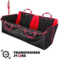 Автогамак для перевозки собаки в машину, трансформер, защиный авто чехол накидка GT LINE