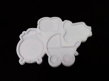 Силиконовый молд леденцы диаметр от 4 см до 6.5 см, Детский