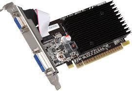 Видеокарта, Nvidia GeForce 8400 GS, 64 бит, 1 гб