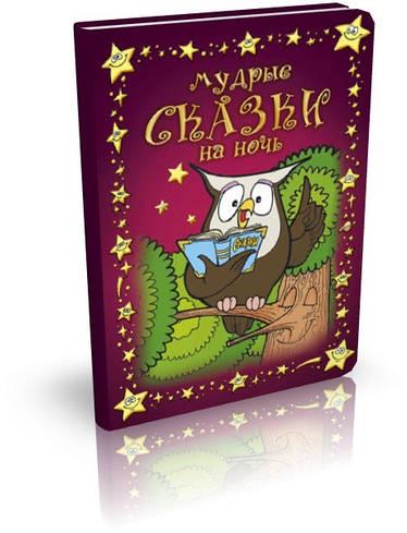 Мудрые сказки на ночь. Книга 1 (Книга для детей от 4-х до 10-ти лет)