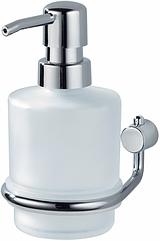 Дозатор для жидкого мыла настенный HACEKA Viva 1124233 хром 200мл стекло 83268