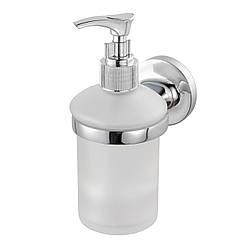 Дозатор для моющего средства настенный HACEKA Aspen 1114262 хром 200мл стекло 83279