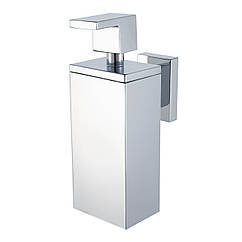 Дозатор для жидкого мыла на стену HACEKA Edge 1143814 хром 200мл металл 83299