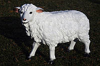 """Садовая фигура """"Овца"""" средняя 39см*56см"""
