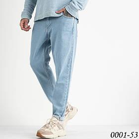 Чоловічі джинси МОМ (чоловічі моми) блакитні 1-0001-53
