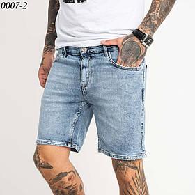 Короткі чоловічі джинсові шорти 1-0007-2