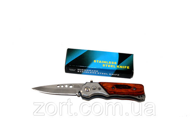 Нож складной автоматический Stainless, фото 2