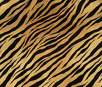 Тканина меблева Tiger Bella (Белла Тайгер) / Ткань мебельная велюр BELLA ZOO TIGER 004