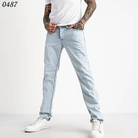 Чоловічі літні блакитні джинси Туреччина 1-0487