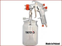Краскопульт пневматический с нижним бачком 1,8 мм Yato YT-2346