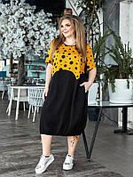 Женское платье большого размера.Размеры:52/66+Цвета, фото 1