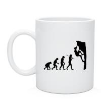 Чашка Эволюция альпиниста