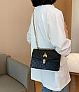Сумки брендовые женские гуччи на цепочке через плечо с пчелой модные красивые, фото 3