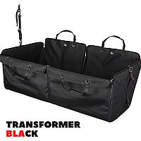 Автогамак для собак в авто. Трансформер. Авточехол для перевозки собак. Transformer BLACK