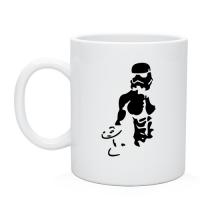 Кружка чашка с изображением Штурмовик бодибилдер