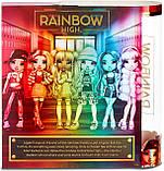 Уценка! Кукла Rainbow High Санни Sunny Madison Yellow Clothes Желтая Рейнбоу Хай Санни Медисон 569626 Оригинал, фото 8