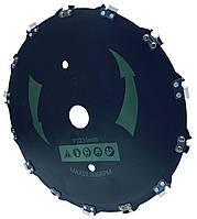 Диск с цепью пильный 230х25.4 мм 14 зубьев для мотокосы бензокосы мототриммера