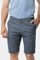 Мужские джинсовые шорты AVECS хлопковые (серо-синие)