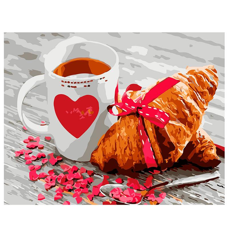 "Картина по номерам ""Французский завтрак"" VA-0227, 40 - 50 см"