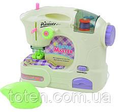 Швейна машина дитяча ігрова 6941A. Світло, шиє, педаль управління.