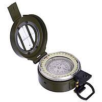 Магнитный компас ручной ZELART Вметаллическом корпусе Диаметр 55 ммОливковый(K60)