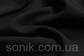 Габардин чорний ш.150