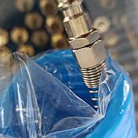 Шланг для компрессора 10 м спиральный полиуретановый 5,5*8мм AIRKRAFT AHC46-B