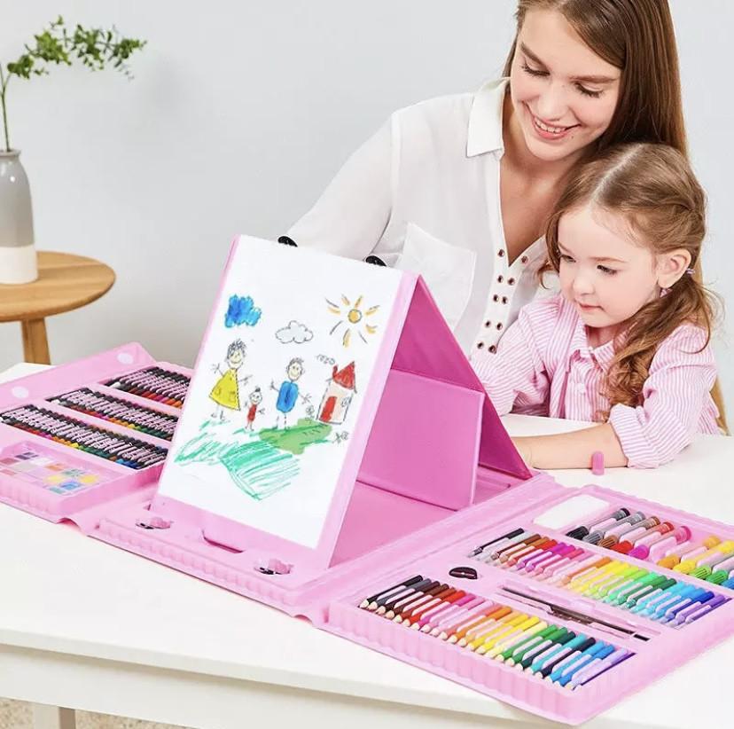 Набір молодого художника для малювання та творчості 208 елементів