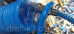 Шланг спиральный для компрессора 6,5*10мм L=20м полиуретановый AIRKRAFT AHC46-H