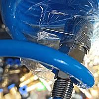 Шланг спиральный быстросъёмный 5,5*8мм L=5м полиуретановый AIRKRAFT AHC46-A