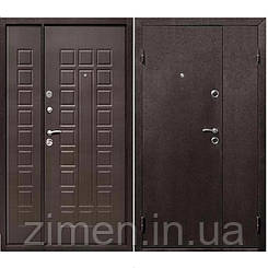 Входная дверь Йошкар металл/мдф Венге нестандарт (1200*2050)