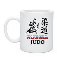 Чашка Иероглиф борцы Россия