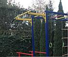 Спортивний дитячий комплекс для вулиці з гіркою, фото 3