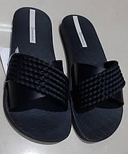 Жіночі шльопанці ТМ Ipanema чорного кольору