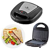 Сендвичница электро гриль прижимной Kingberg KB 2045 электрогриль, электрическая сэндвичница, бутербродница