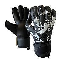 Рукавички воротарські BRAVE GK REFLEX CAMO BLACK, розмір 10