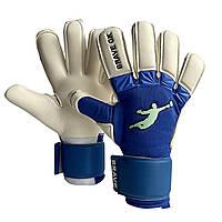 Рукавички воротарські BRAVE GK UNIQUE Blue, розмір 10