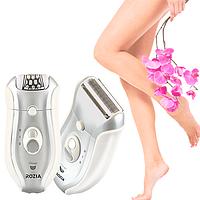 Женский эпилятор бритва, триммер ROZIA HB-6005 2 а 1( депиляция, эпиляция, электробритва депилятор тример)