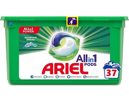 Капсули для прання ARIEL Pods Mountain Spring 37 шт.