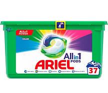 Капсули для прання кольорового одяу ARIEL Color 37 шт.