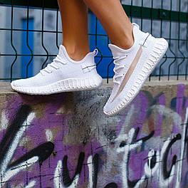 Женские летние белые кроссовки в сеточку Изики последний размер 39 (Замеры в описании)