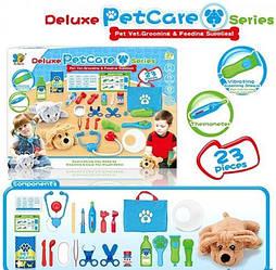 Набор ветеринара детский с собачкой, 23 предмета 699-16A/B