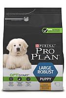Акція! Корм Pro Plan Puppy LargeRobust (Про План для цуценят великих порід, курка з рисом), 12кг.