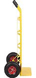 Тележка платформенная ручная грузовая, 150 кг, 1160х550х440 мм. Тележка ручная, фото 2