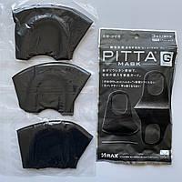 Многоразовая маска Pitta MASK Черная (эластичный полиуретан), фото 1